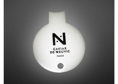 clés à caviar personnalisé en métal émaillé 2D - Enamel keychain 2D