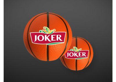 Mini-ballon de basket antistress PU JOKER