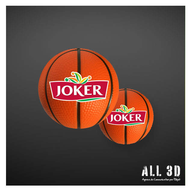 Fabrication de Mini-ballon de Basketball antistress pour JOKER