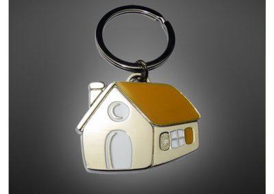 Porte-clés personnalisé en métal émaillé 3D - Enamel keychain 2D