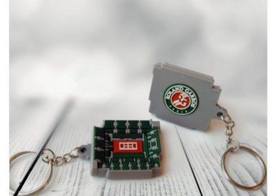 Porte-clés-PVC-3D-ROLAND-GARROS