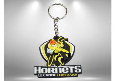 porte-cles-en-pvc-souple-relief-2d-hornets