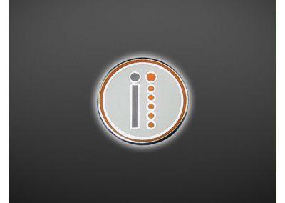 Pin's personnalisé 2D en métal émaillé