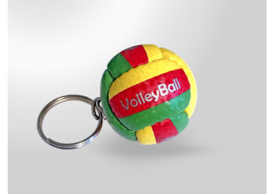 Porte-clés-Ballon-de-Volley1-imitation-cuir