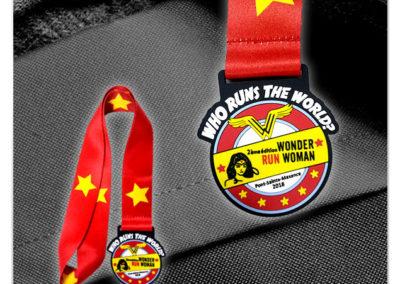 Médaille en PVC 2D