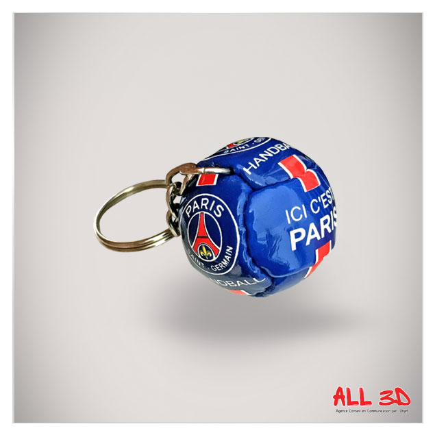 Porte-clés Ballon de Handball imitation cuir