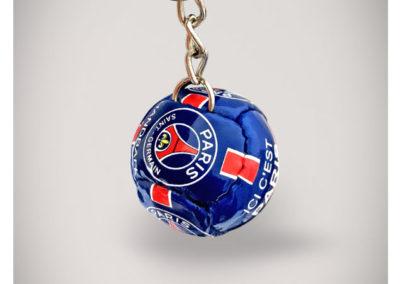 Porte-clés-handball-imitation-cuir