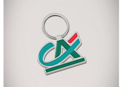 Porte-clés-Métal-2D-CREDIT-AGRICOLE
