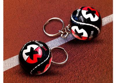 Porte-clés-ballon-de-basket-imitation-cuir-3x3-FFBB