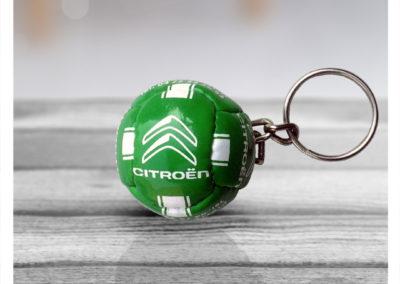 Porte-clés-ballon-imitation-cuir-CITROEN
