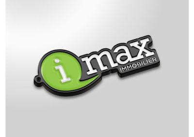 Porte-clés-en-métal-émaillé-GROUPE-IMAX-IMMO